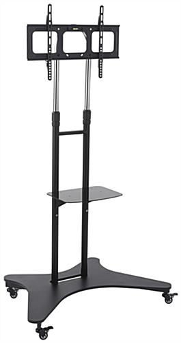 Mobile TV Console, Height Adjustable