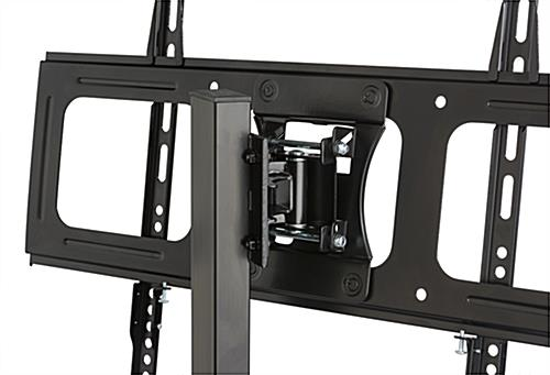 TV Stand with Mount for 70 Inch TV with Panning Bracket