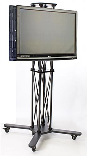 tv stand mount back to back screen display. Black Bedroom Furniture Sets. Home Design Ideas
