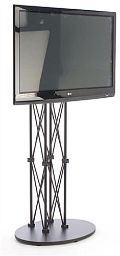 Lcd Tv Stands Black Truss Racks For Trade Shows