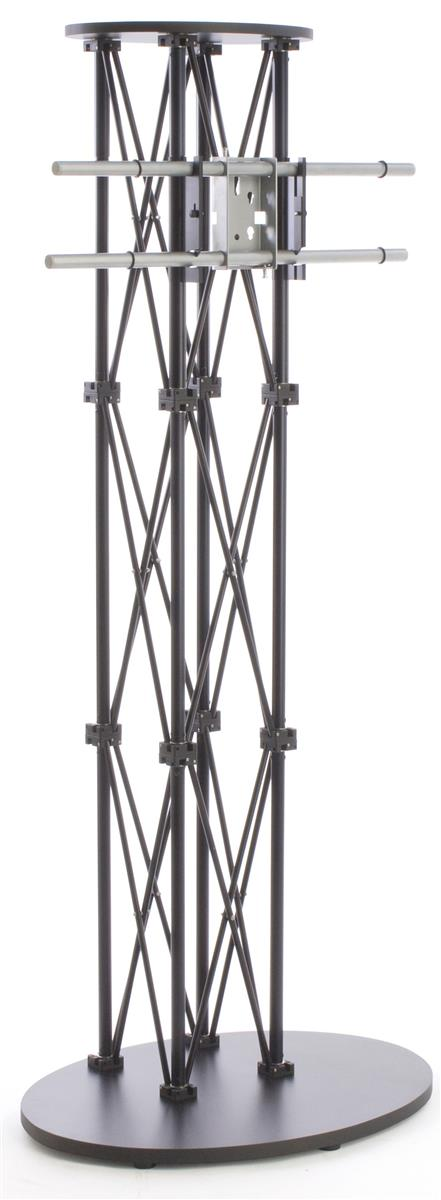 lcd tv stands black truss racks for trade shows. Black Bedroom Furniture Sets. Home Design Ideas
