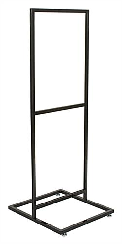 "Double Tier 22"" x 28"" Poster Stand With Steel Frame"
