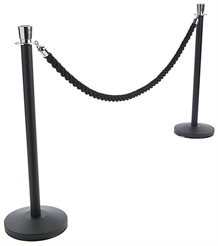 Black VIP Rope with (2) Posts