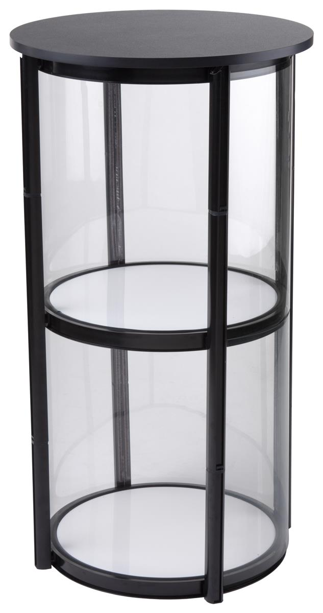 Portable Exhibition Shelves : Portable expo counter quot w shelving holds poster