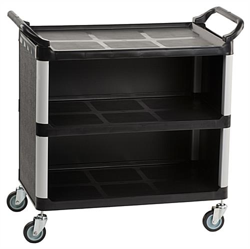 3-shelf utility cart