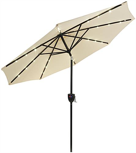 Commercial Patio Umbrella with Bluetooth Capabilities