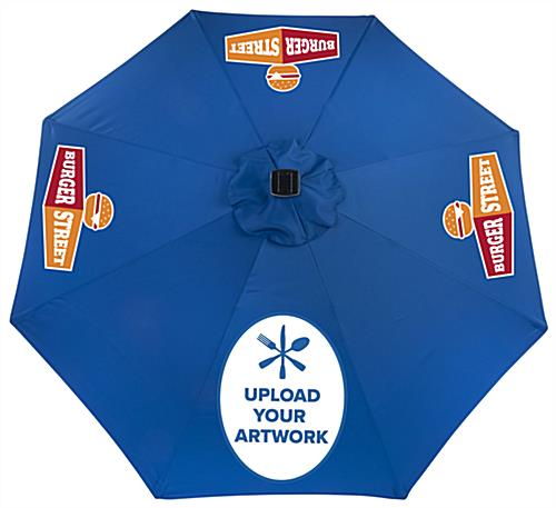 Customized Umbrella with Printed Logos Add Character to your Average Canopy