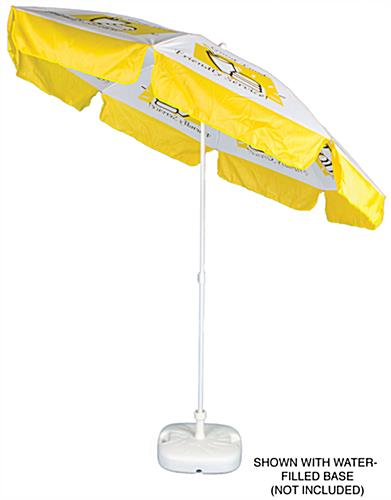 Printed Market Umbrella
