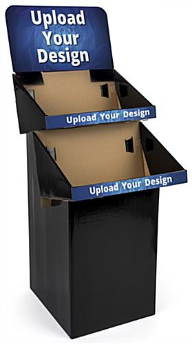 Custom Cardboard Display with Personalized Graphics