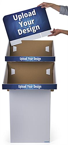 Custom Cardboard Display Stands with Corrugated Construction
