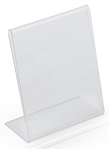 4 x 5 Printed Acrylic Sign Holder