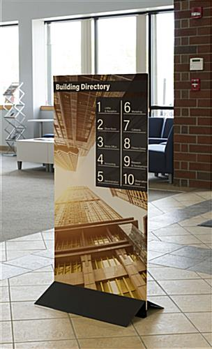 Printed Foam Core Board for Double-Sided Business Information Posters