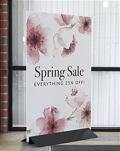 Extra Large Foam Board Sign for Customizable Marketing Messages
