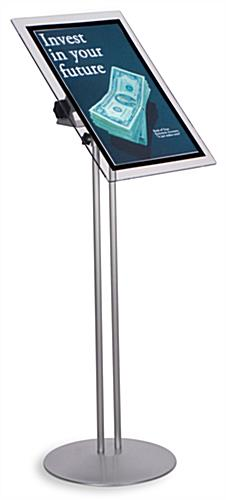 Menu Display For 17 x 11 Signs, Magnetic Lens And Adjustable Height