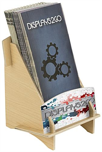 Branded Brochure Holder, Plywood