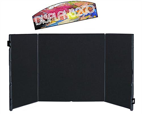 4 Panel Project Display Board with Printed Header