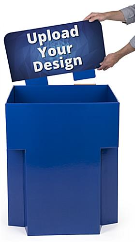 Customized Dump Bin Cardboard Display for Point of Sale Locations