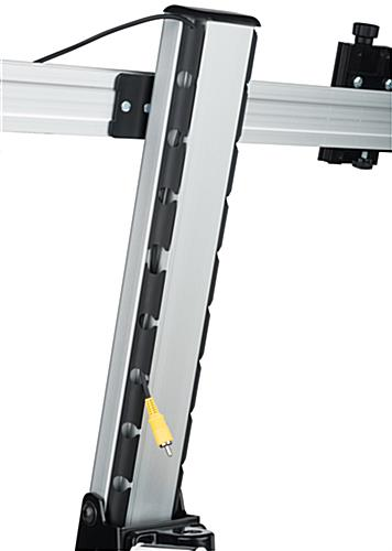 Dual Monitor Desktop Mount with Bracket Bar