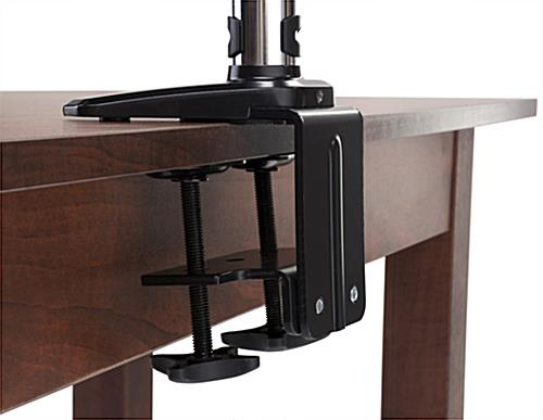 Monitor Desk Mount Stand with Clamp