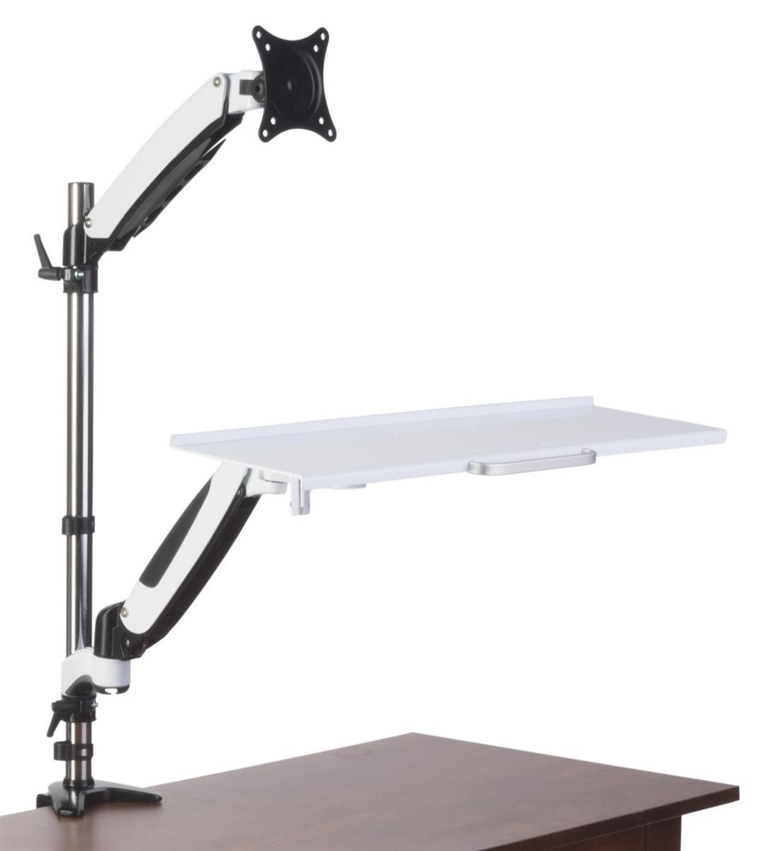 Monitor Desk Mount Stand Tilting Swiveling Amp Rotating