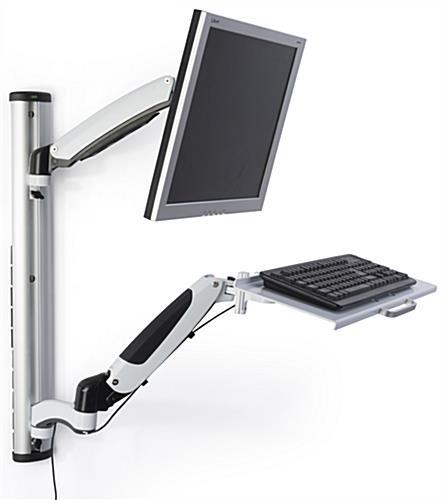 monitor and keyboard wall mount vesa compliant. Black Bedroom Furniture Sets. Home Design Ideas