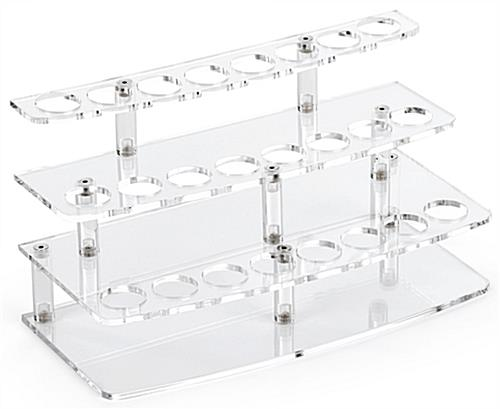 24-Pen Acrylic Atomizer Stand with 8 Slots Per Layer