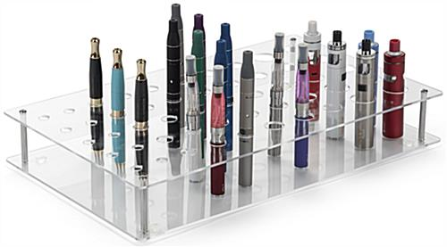 E Cig Display with Merchandise