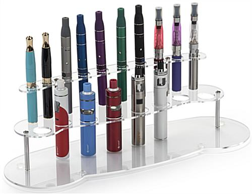 E Cig Display Stand with Merchandise