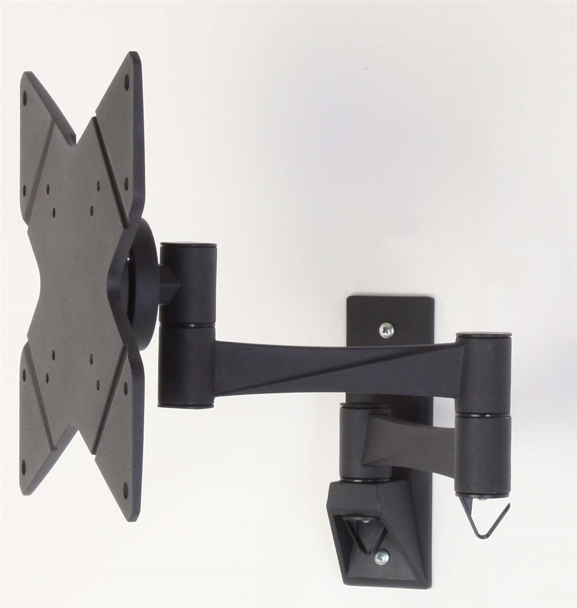 Displays2go TV Wall Mount with Articulating Arm Fits Moni...