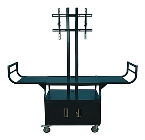 Flat Screen Cart with Dual Posts