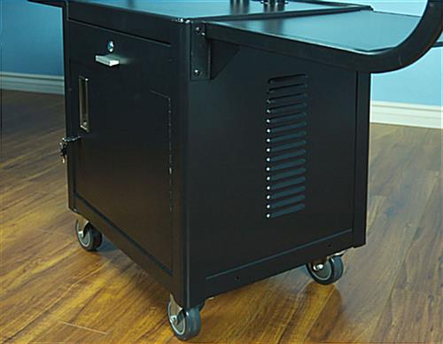 Tilting Bracket Plasma TV Cart