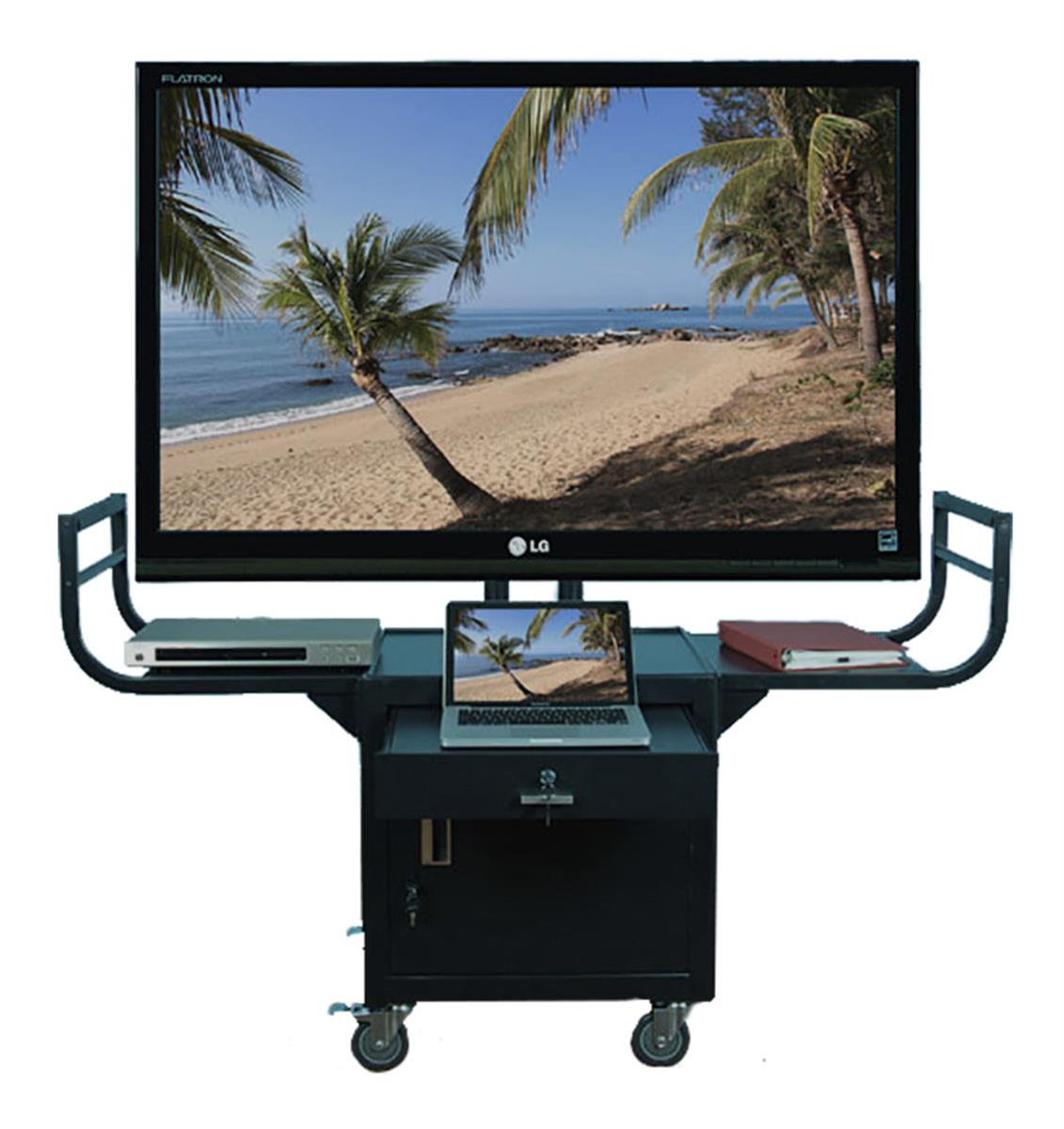 Rolling Tv Stands Mobile Lcd Cart