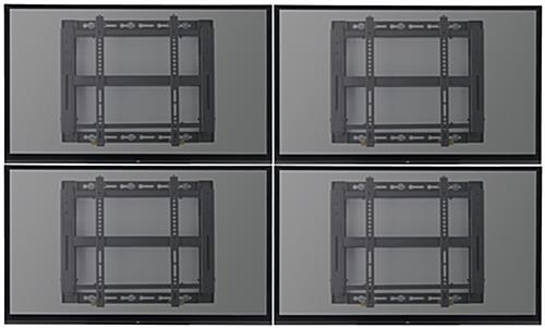 "Quad Video Wall Mount for 42"" - 55"" Screens"