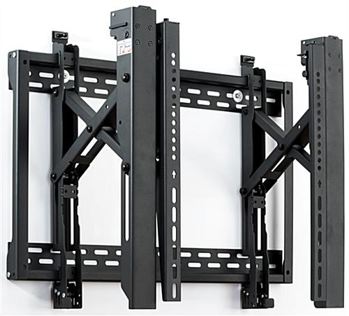Video wall display 3x2 brackets with 6 VWM64ECO mounts