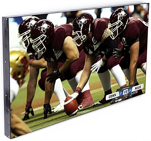 Thin Bezel TV for Video Wall with 178° Wide Viewing Angles