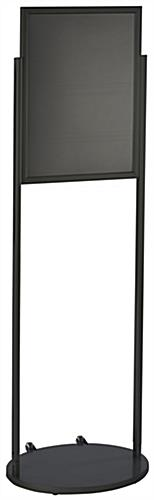 Black 18 x 24 Mobile Poster Stand