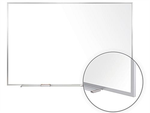 Aluminum Framed Whiteboard - Beveled Edges