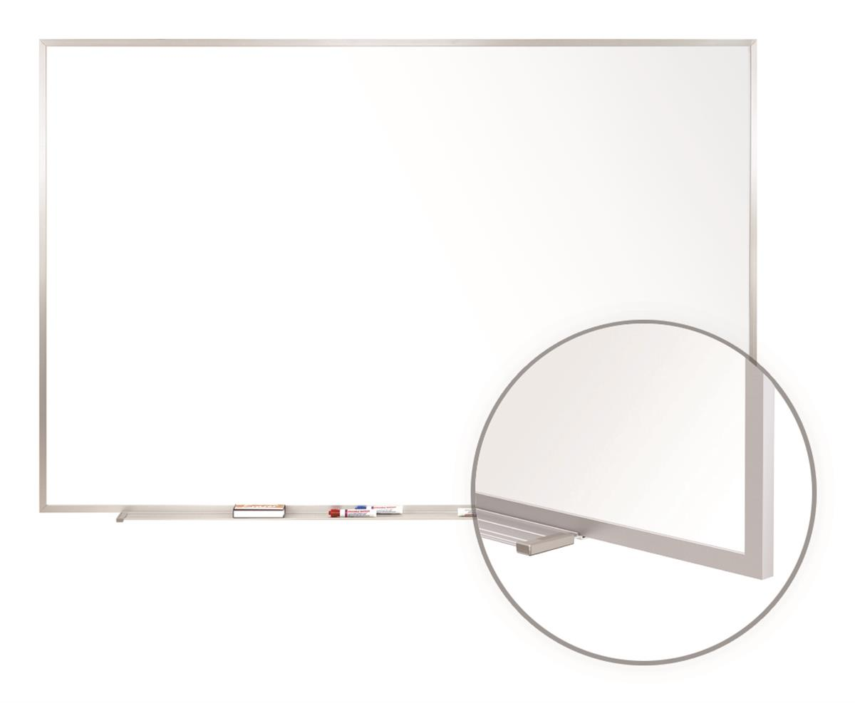 Ghent 96 x 48 Dry Erase Board, Acrylate with Aluminum Fra...