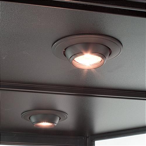 Best Overhead Shop Lights: LED Wall Display Cabinet