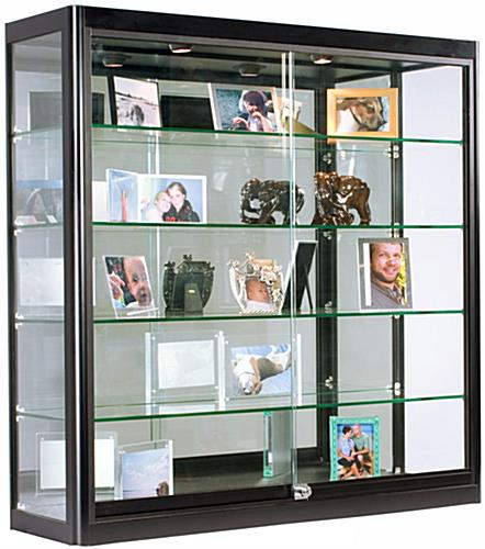 "12"" Deep LED Wall Display Cabinet"