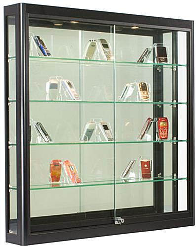 Wall Display Case: Ships Fully Assembled