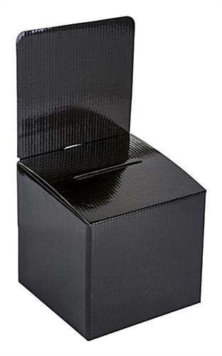 Countertop Black Cardboard Entry Box