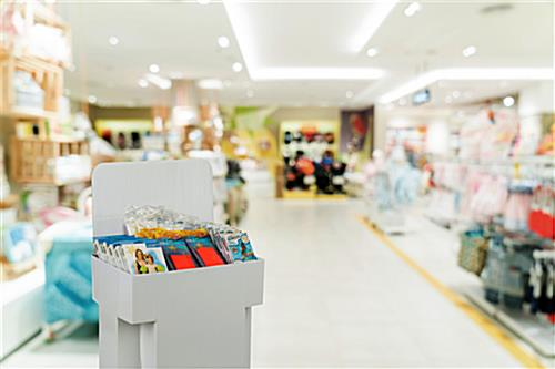 Bin Display for Point of Sale Locations