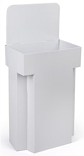 Bin Display: Single-Cell White Bin