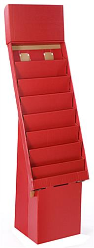 8-tier greeting card racks