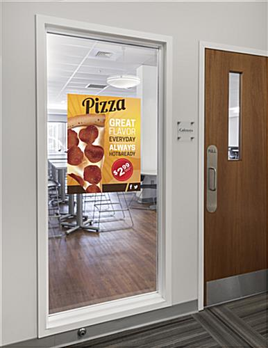 22 x 28 Static Cling Window Sign for Smooth Surfaces