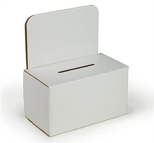 Small Corrugated Suggestion Box