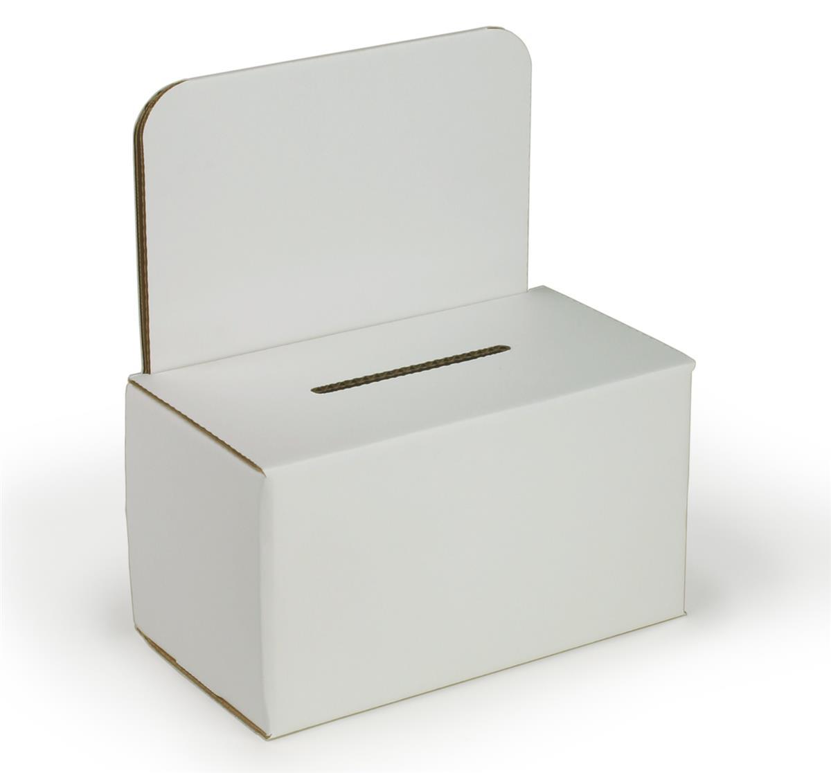 Corrugated Suggestion Box Header For Signage