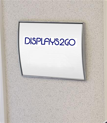 "Door Signs To Display 8-1/2"" x 11"" Safety Signage"