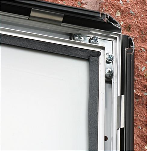 outdoor snap frames for 24 x 36 artwork is weatherproof. Black Bedroom Furniture Sets. Home Design Ideas